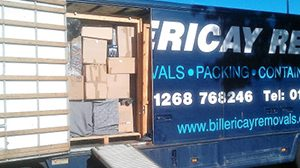 Professional Removals Service in Billericay & Wickford